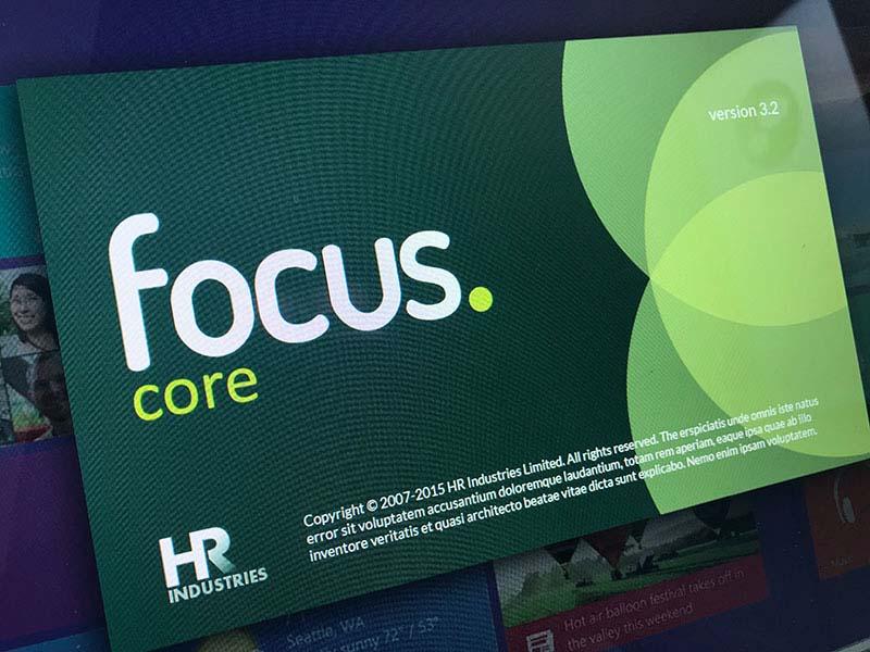 focus core branding