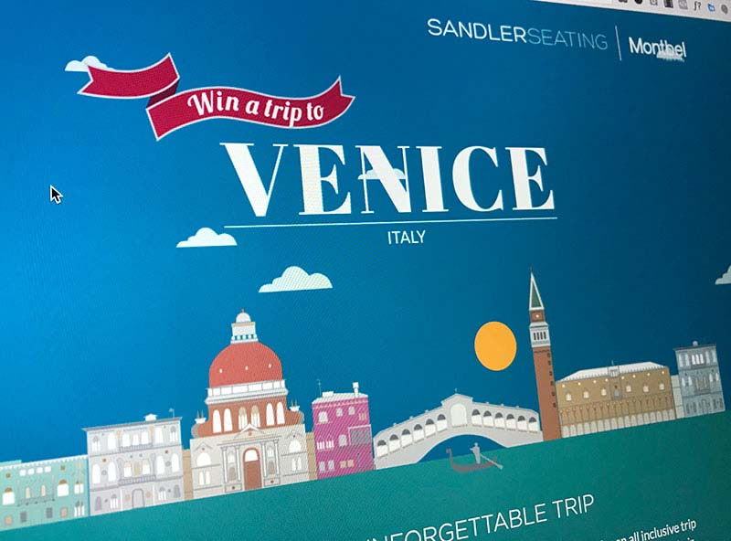 win a trip to Venice competition website