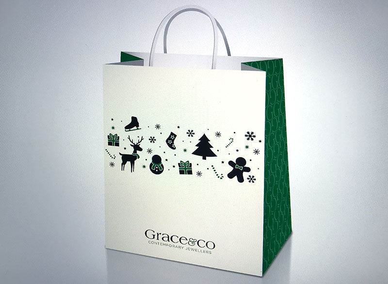 festive packaging for independent jewellers