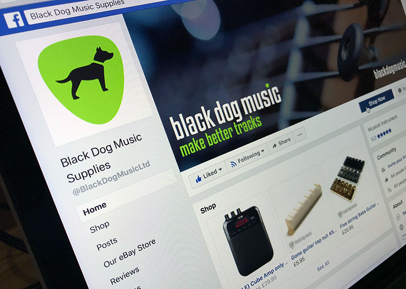black dog music facebook page
